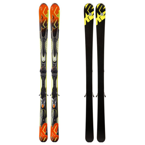 K2 AMP Impact MX 11.0 TC Skis 2013