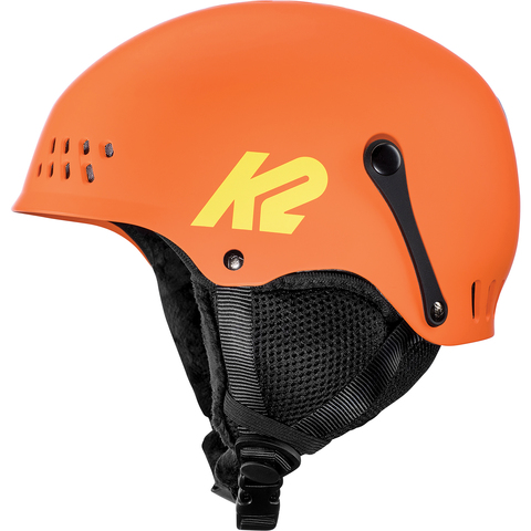 Keep your kiddos most important asset protected on all of their winter adventures with this burly helmet from K2. The Entity Helmet is bike certified with a hardshell construction and features a K2Dialed fit system with passive venting.