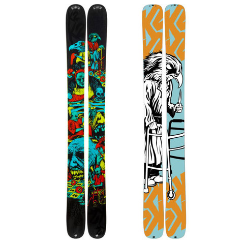 K2 Hell Bent Skis 2013