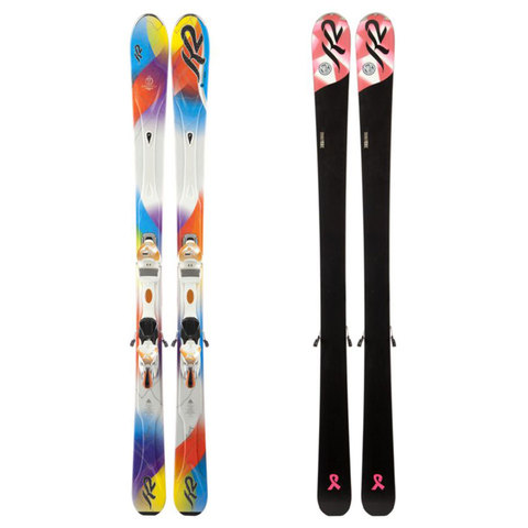 K2 Superstitious ERS 11.0 TC Skis - Women's 2013