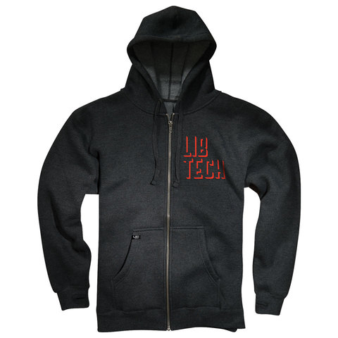 Lib Tech Woodshop Full Zip Hoodie