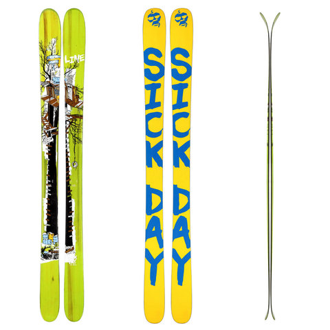 Line Sick Day 95 Skis 2015
