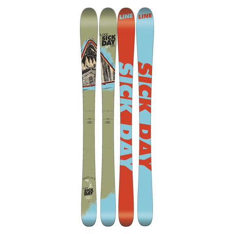 Line Sick Day Shorty Skis - Kid's