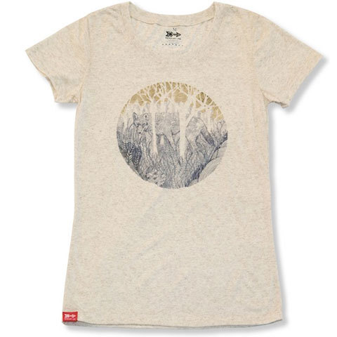 Meridian Line Red Wolf SS Tee - Women's