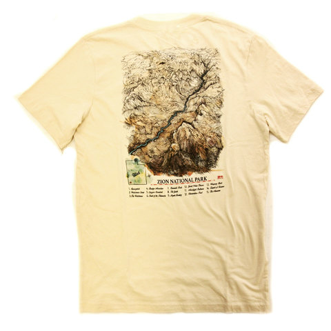 Meridian Line Zion Canyon SS Tee