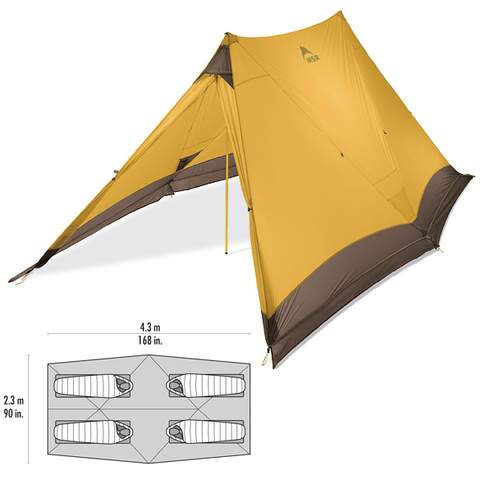 MSR Twin Brothers Tent - Outdoor Gear