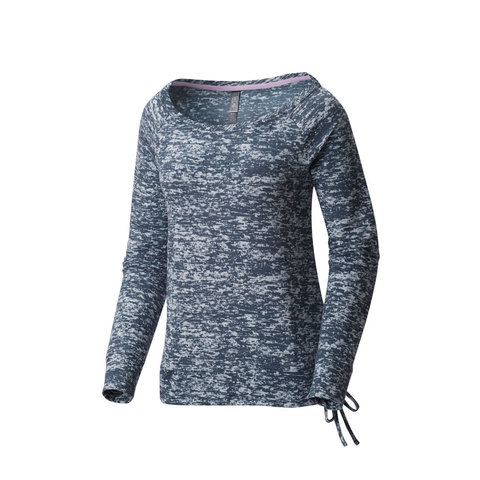 Mountain Hardwear Burned Out Long Sleeve Pullover - Womens - Outdoor Gear