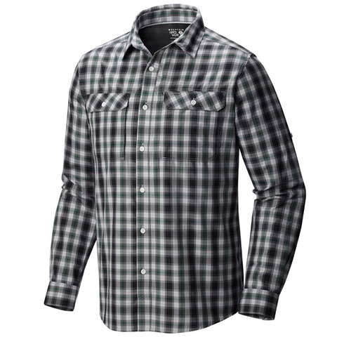 Mountain Hardwear Canyon Plaid Long Sleeve Shirt - Outdoor Gear