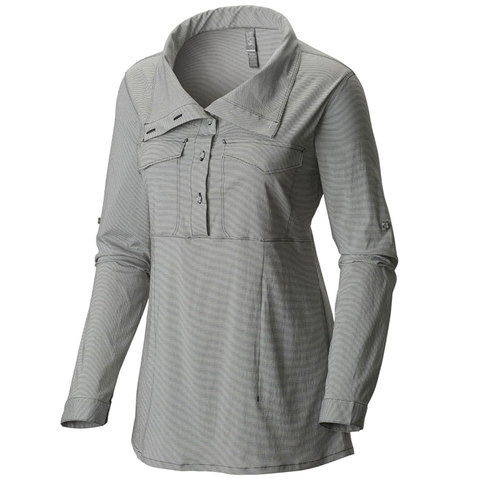 Mountain Hardwear Citypass Long Sleeve Popover - Womens - Outdoor Gear