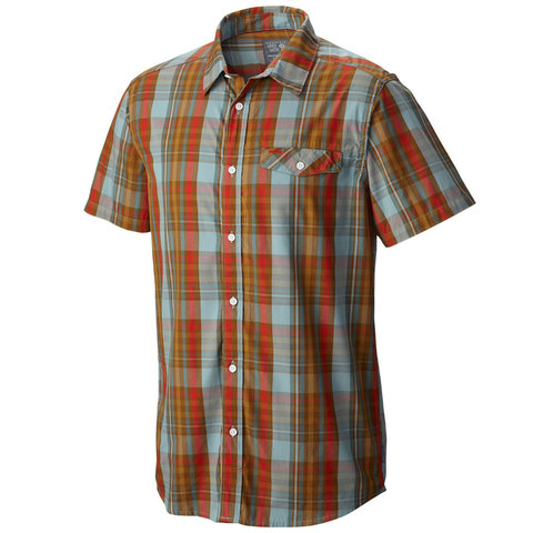 Mountain Hardwear Farthing Short Sleeve Shirt - Mens - Outdoor Gear