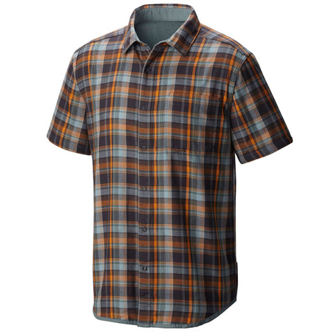 Mountain Hardwear Mcclatchy Reversible Short Sleeve Shirt - Mens - Outdoor Gear