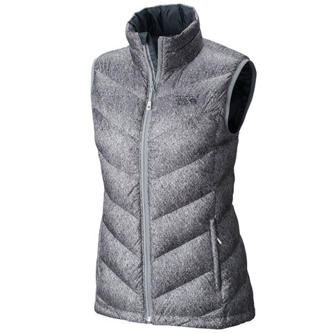 Mountain Hardwear Ratio Printed Down Vest - Womens - Outdoor Gear