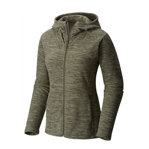 Mountain Hardwear Snowpass Fleece Full Zip Hoodie - Womens - Outdoor Gear