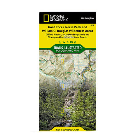 National Geographic Maps Goat Rocks & Norse Peak Wilderness