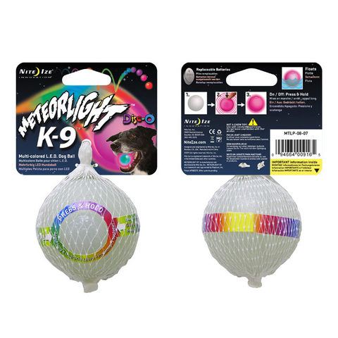 Nite Ize Meteorlight K-9 Dog Ball