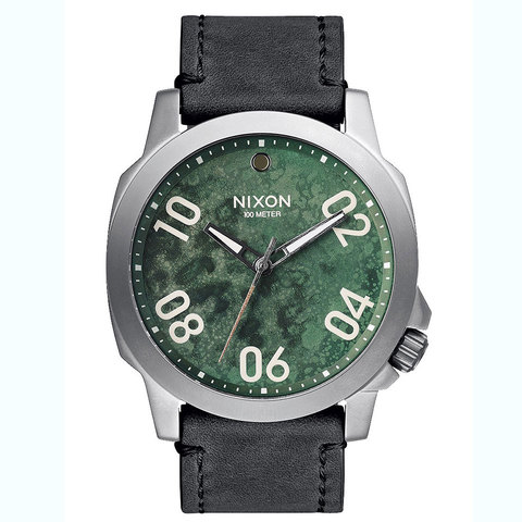 Nixon Ranger 45 Leather Watch