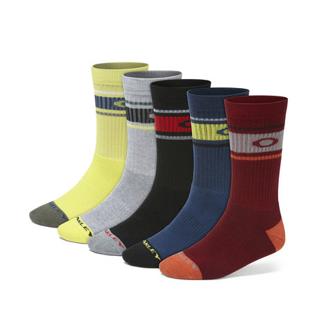 Oakley Performance Basic Crew Sock 5-Pack