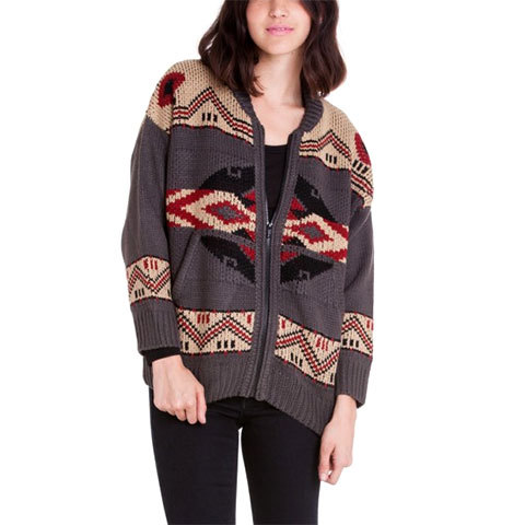 Obey Adri Sweater Cardigan - Womens