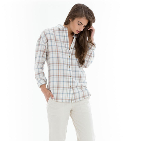 Obey Ditch Plains Button-Down Shirt - Women's