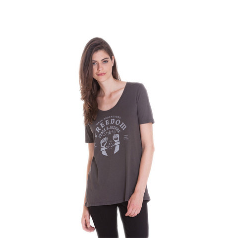 Obey Freedom Cuffs Tee - Women's