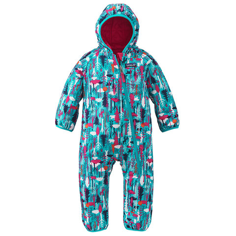 Patagonia Baby Reversible Puff-Ball Bunting - Outdoor Gear