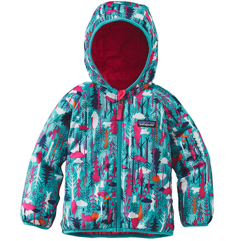 Patagonia Baby Reversible Puff-Ball Jacket - Outdoor Gear