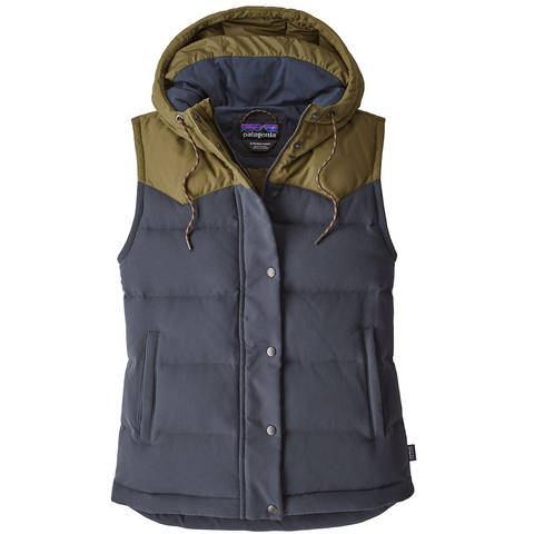 Patagonia Bivy Hooded Vest - Womens - Outdoor Gear