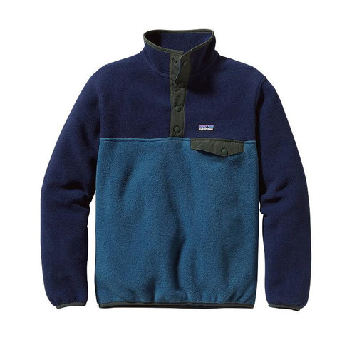 Patagonia Boys Lightweight Snap-T Pullover