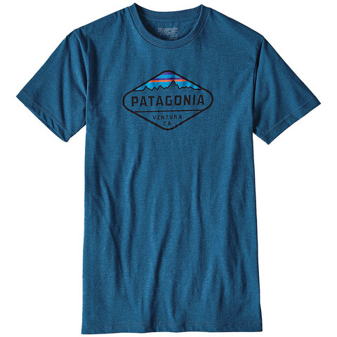 Patagonia Fitz Roy Crest Cotton / Poly T-Shirt