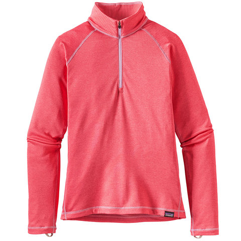 Patagonia Girls Capilene Heavyweight Zip-Neck