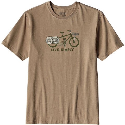 Patagonia Live Simply Cargo Cotton T Shirt
