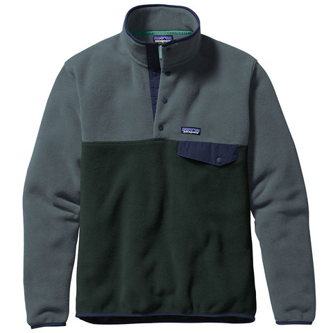 Patagonia Lightweight Synchilla Snap-T Pullover - Mens - Outdoor Gear