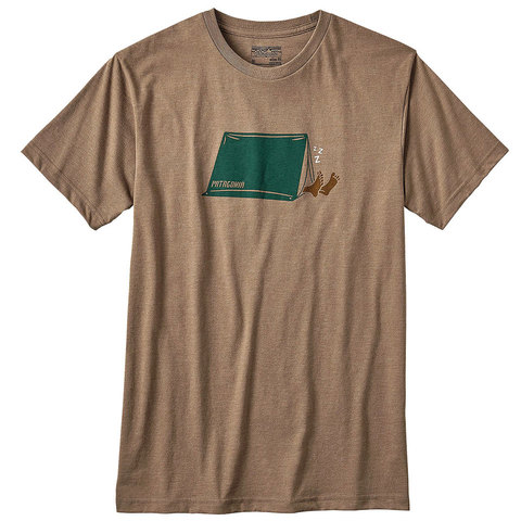 Patagonia Napping Camper Cotton/Poly T-Shirt