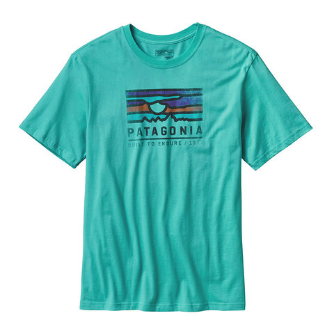 Patagonia Sunset Cotton T-Shirt - Mens - Outdoor Gear