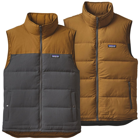 Patagonia Reversible Bivy Down Vest - Outdoor Gear