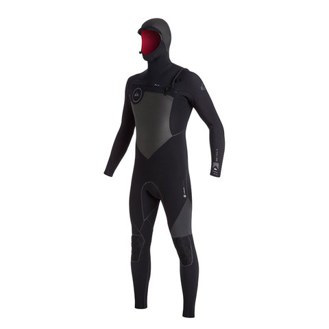 Quicksilver Highline Performance 5/4/3mm Chest Zip Hooded Full Wetsuit