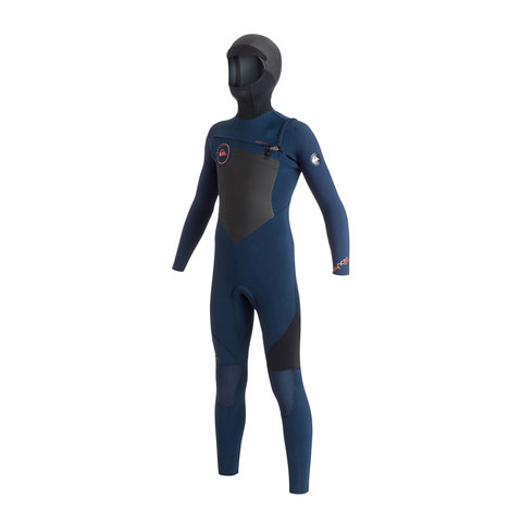 Quicksilver 8-16 Syncro GBS 5/4/3mm Chest Zip Wetsuit - Boys - Outdoor Gear