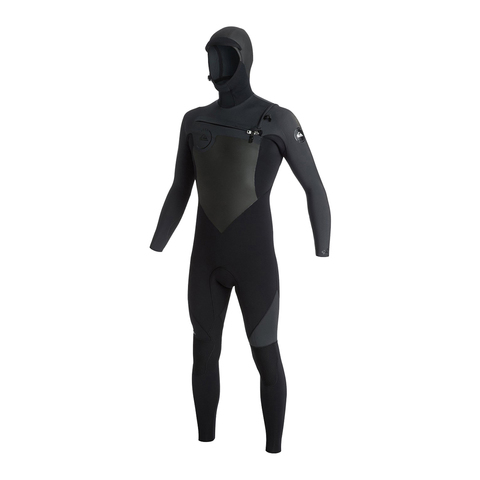 Quiksilver Syncro Hooded 5/4/3 Chest Zip Wetsuit - Outdoor Gear
