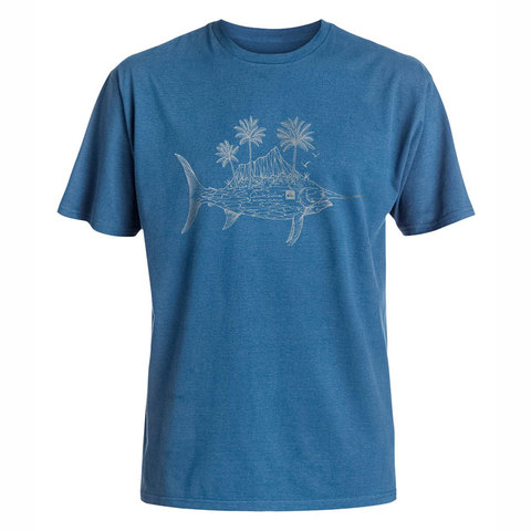 Quiksilver Diamond Fish Tee - Men's
