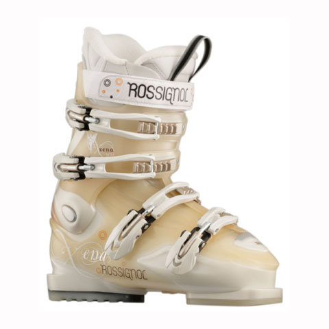 Rossignol Xena X 50 Ski Boots - Grey / Transparant - Womens - Outdoor Gear