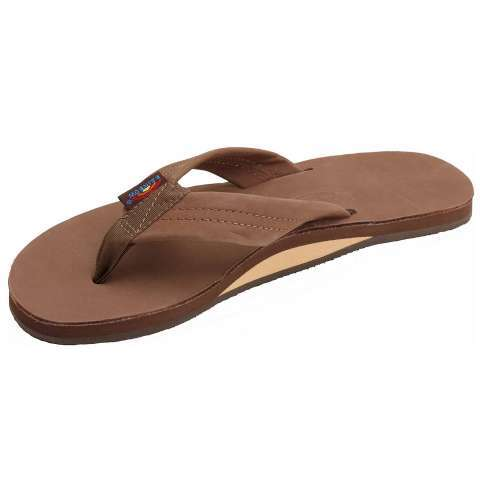 Rainbow Premier Leather Single Layer Sandal - Women's