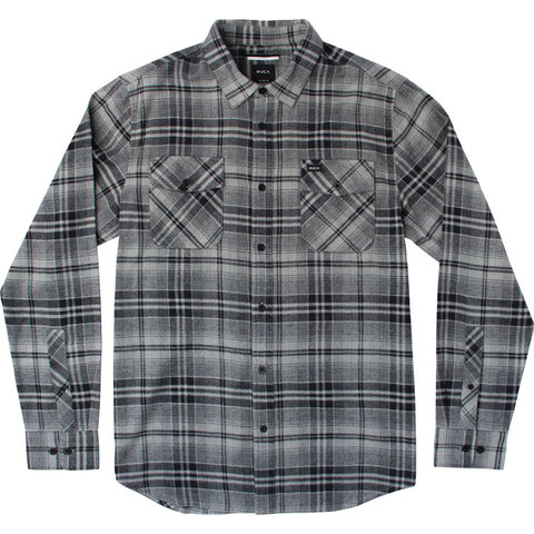RVCA Levels L/S Flannel - Outdoor Gear
