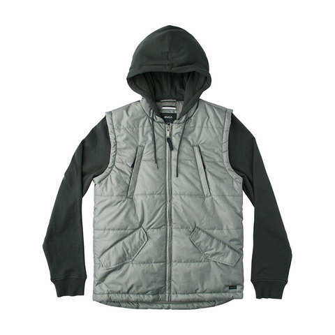 RVCA Puffer Quilted Expedition Hoodie