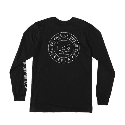 RVCA Skull Seal Long Sleeve T-Shirt