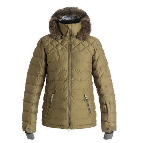 Roxy Quinn Quilted Snow Jacket - Women's