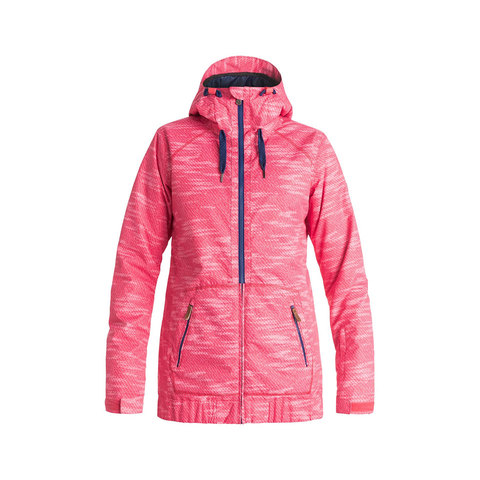 Roxy Valley Hoodie Snow Jacket - Women's