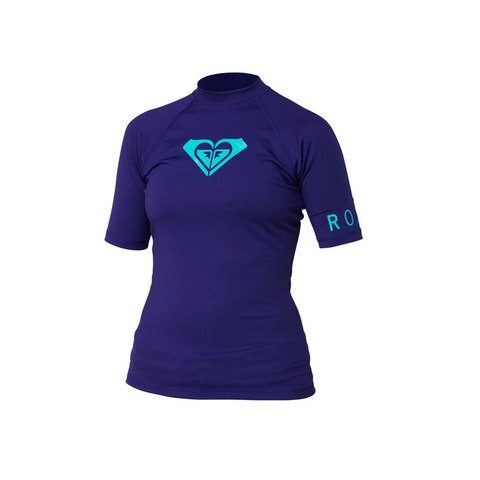 Roxy Whole Hearted S/S Rashguard - Women's