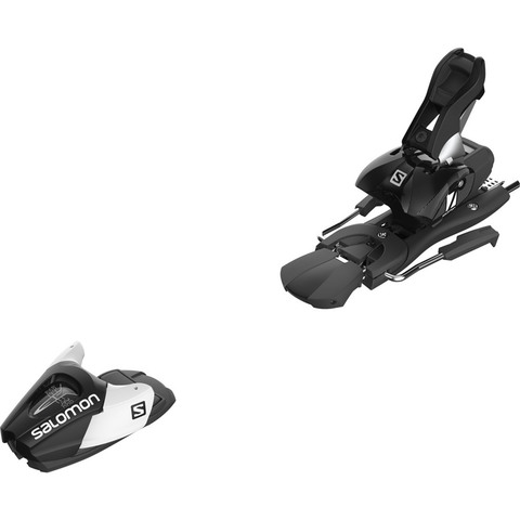 Ideal for lightweight adults or kids that are transitioning into adult sizes these playful bindings from Salomon are perfect for skiers that weight more than 50lbs but less than 187 lbs. The L7 Bindings are ideal for beginner to advanced skiers and feature automatic wing adjustment.
