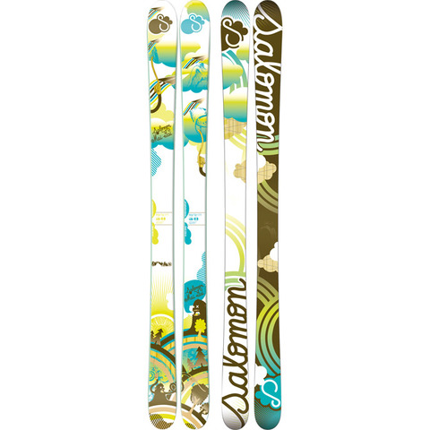Salomon Mai Tai Skis - Womens - Outdoor Gear