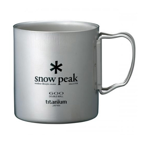 Snow Peak Titanium Double-Wall Cup - 600ml